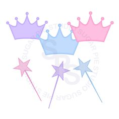 Popular items for crown and wand on Etsy