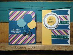 CTMH Cricut Artistry | Happy Birthday cards