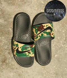 Custom digital camo nike slides nwt for Sale in Gainesville, FL - OfferUp Mens Slide Sandals, Nike Sandals, Nike Shoes, Women Sandals, Shoes Women, Ladies Shoes, Shoes Sneakers, Shoes Uk, Sock Shoes