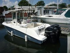 """Do it your way in """"My Way Too"""" 2012 Boston Whaler 25 Outrage. Find where the fish bite in this Boston Whaler. Fish Bites, Boston Whaler, Used Boats, Boats For Sale"""