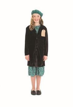Amazon.com 1940s World War 2 Evacuee SchoolChilds Fancy Dress - L 54inch Height  sc 1 st  Pinterest & 1940s Evacuee Kids Fancy Dress WW2 40s Childrens Boys Girls Costumes ...