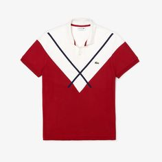 Polo Shirt White, Pique Polo Shirt, Polo T Shirts, Cool Shirts, Polos Lacoste, Lacoste Men, Motif Polo, T Shart, Oakley