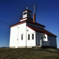 Gilbert's Cove Lighthouse near Weymouth, Nova Scotia becomes a tea room and craft shop during the summer months; worth a visit when traveling in Southwest Nova Scotia. The homemade muffins (fresh daily) are to die for.