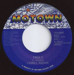 Truly / Lionel Richie / on Billboard 1982 Old Records, Vinyl Records, Lionel Richie Albums, Music Lyrics, Music Songs, Tamla Motown, Music Charts, Old Music, Music Radio