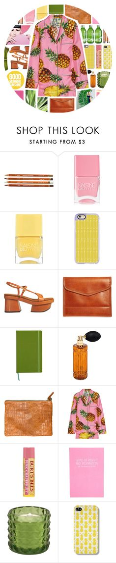 """""""TOPSET.WeAreAPineapple."""" by mhurtiz ❤ liked on Polyvore featuring Nails Inc., Casetify, STELLA McCARTNEY, Brooks Brothers, Kate Spade, Diptyque, Clare V., Dolce&Gabbana and Happy Jackson"""