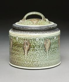 Early Tom Turner Earthenware, Stoneware, Honey Jars, Ceramic Boxes, Box With Lid, Pottery Studio, Clay Projects, Mosaics, Casseroles