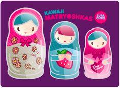 the cute institute - Kawaii Vector Pop Art! - matryoshka.png