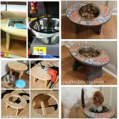 DIY Super Simple Dog Feeder 1