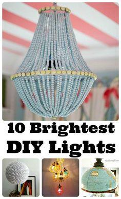 10 great DIY chandeliers