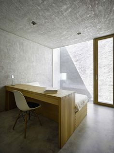 [idea: natural light without a view] | house in ranzo | by wespi de meuron