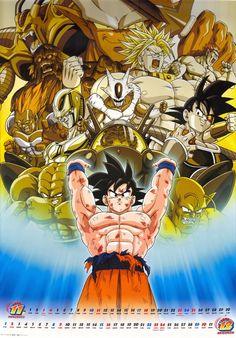 Goku / Cooler / Turles / Broly / Bio-Broly / Janemba / Hirudegarn / Bojack / Android 13 / Lord Slug / Dr. Wheelo