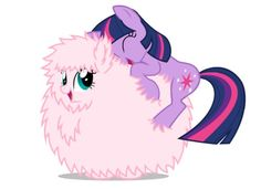 twilight and fluffle puff