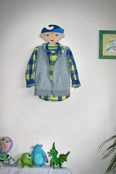 вішак для одягу. Пташка декор. cloth hanger by Ptashka-decor /laser cutting