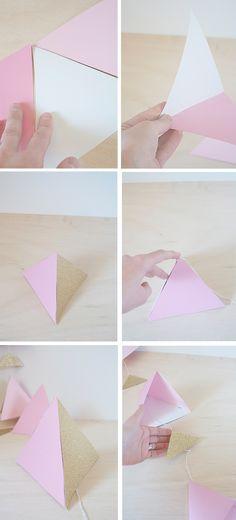 Paper Triangle Mobile