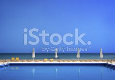 Pool near the Sea royalty-free stock photo Sea Photo, Pools, Greece, Royalty Free Stock Photos, Image, Swimming Pools, Grease, Ponds