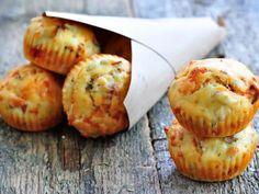 Mini cakes aux poivrons d'aucy