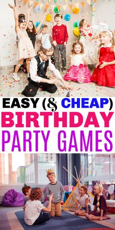 Easy Birthday Party Games for Kids - Life is Sweeter By Design