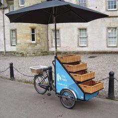 Vender comida na bicicleta: idéias para ganhar dinheiro!