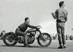 VINTAGE MOTORCYCLE. Man people had class back then! Born in the wrong era.