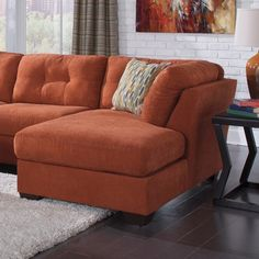 Delta City Right Chaise Lounge Color: Rust - http://delanico.com/chaise-lounges/delta-city-right-chaise-lounge-color-rust-659776193/