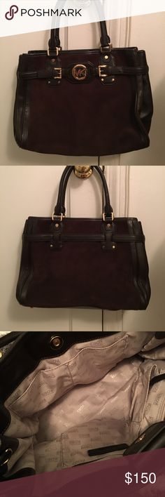Brand new Michael kors bag without tags Dark chocolate brown- Michael kors bag Very spacious- brand new No tags or bag available Will make offer for serious buyer MICHAEL Michael Kors Bags