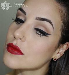 Bruna Malheiros Makeup » Blog Archive » Maquiagem Pin-Up