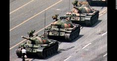 A symbol of resistance : The Tank Man 1989