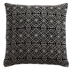 Aniza Home Nah Hand-embroidered Feather Pillow (€145) ❤ liked on Polyvore featuring home, home decor, throw pillows, pillows, embroidered throw pillows, mexican home decor and handmade home decor