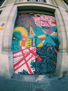 Born • Abstract collage Barcelona Street, Surfboard, Stencils, Graffiti, Street Art, Collage, Abstract, Summary, Collages