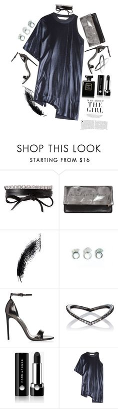 """Monique"" by lylliansimerly ❤ liked on Polyvore featuring Fallon, Sarah Baily, Eva Fehren, Marc Jacobs, Kershaw and Golden Goose"
