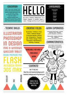 This is a personal project of self promotion material, as a designer & illustrator looking for a job!
