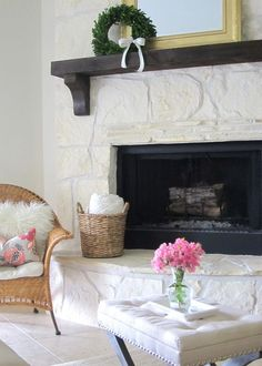 Love this bright and cheery home tour of This is Happiness eclecticallyvintage.com