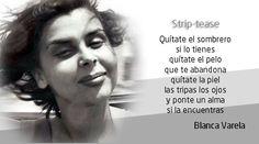 Blanca Varela, escritora peruana.