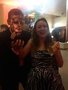 """Mystery photo-bomber on the dance floor last night at the Bafta Awards (hint: it's Tom Hiddleston)"" Source: https://twitter.com/jennyruby/status/729629301482622976"