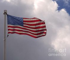 This flag could use a washing...Sherry Dooley