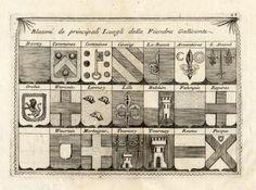 Antique-Print-FRANCE-BELGIUM-HERALDRY-Coronelli-1706