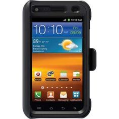 Otterbox Defender Case for Sprint Samsung Galaxy S II Epic 4G Touch D710 Black w/Holster – 1 Pack – In Retail Package