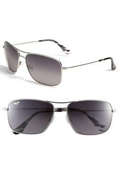 a92b86209f5c Maui Jim Wiki Wiki 59mm PolarizedPlus2® Aviator Sunglasses | Nordstrom