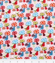 Novelty Cotton Fabric- Mushrooms: novelty quilt fabric: quilting fabric & kits: fabric: Shop | Joann.com - 1.5 yards for skirt