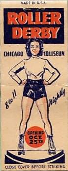 Roller Derby at the Coliseum-1939