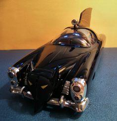 Batmobile model from Johnny Lightning kit. Iron Batman, Batman And Superman, Batman Robin, Lego Batman, Superhero, Dc Heroes, Comic Book Heroes, Beware The Batman, Batman Batmobile