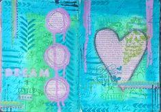 Dream art journal entry