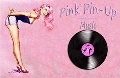 Pink Pin-Up Music | Wallpaper vintage