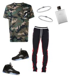 """""""Untitled #596"""" by aintdatjulian on Polyvore featuring Valentino, Fear of God, Hermès, men's fashion and menswear"""