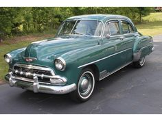 1952 Chevy Styleline Deluxe Sedan: My first husband had this car- nothing but problems with it.