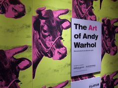 Traveling exhibit about Andy Warhol