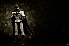 Infinite Batman (Black & White) - Seventh in a week-long series inspired by the heroes of DC Comics.