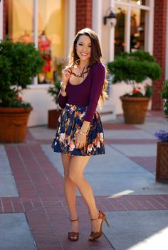 Best Skater Skirts for Petite Teens 2014/2015 | MomsMags Fashion