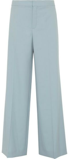 Chloé Wool wide-leg pants on shopstyle.com
