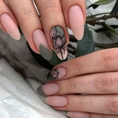 Shellac Nails, My Nails, Nail Polish, Nail Nail, Short Nail Designs, Nail Art Designs, Cute Nails, Pretty Nails, Mandala Nails